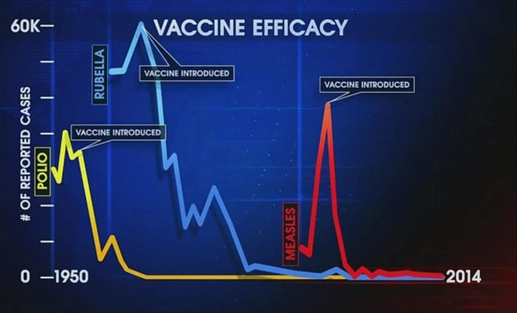 Illustration Of Vaccine Efficacy
